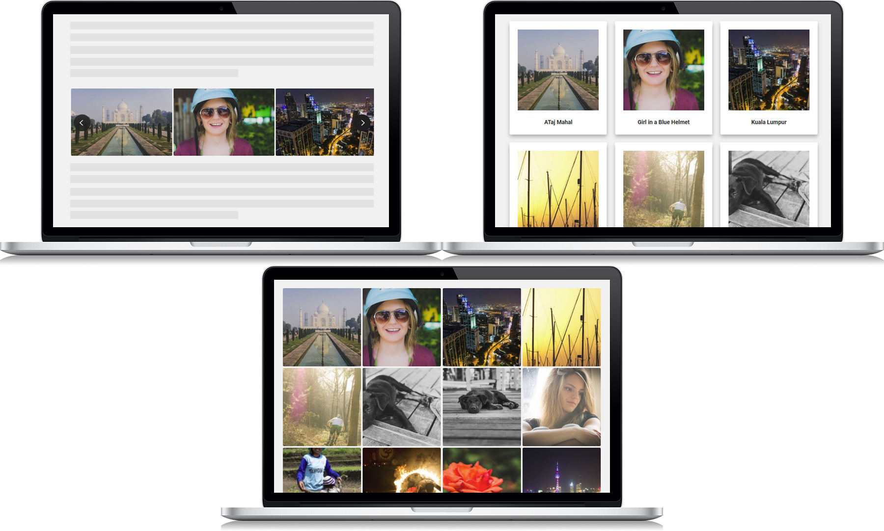 RC Gallery Layouts Add-on